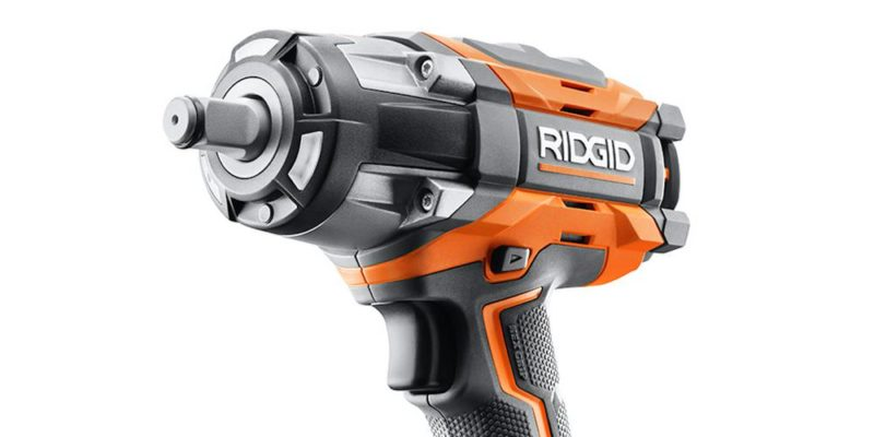 Ridgid Gen5x Brushless 18v 4 Mode Impact Wrench Is A Heavy Hitter
