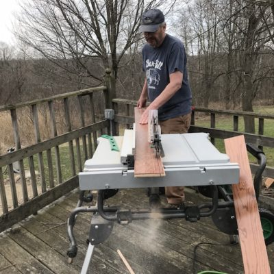 "Hitachi C10RJ 10"" Jobsite Table Saw Review – Fold It Up And Roll On"