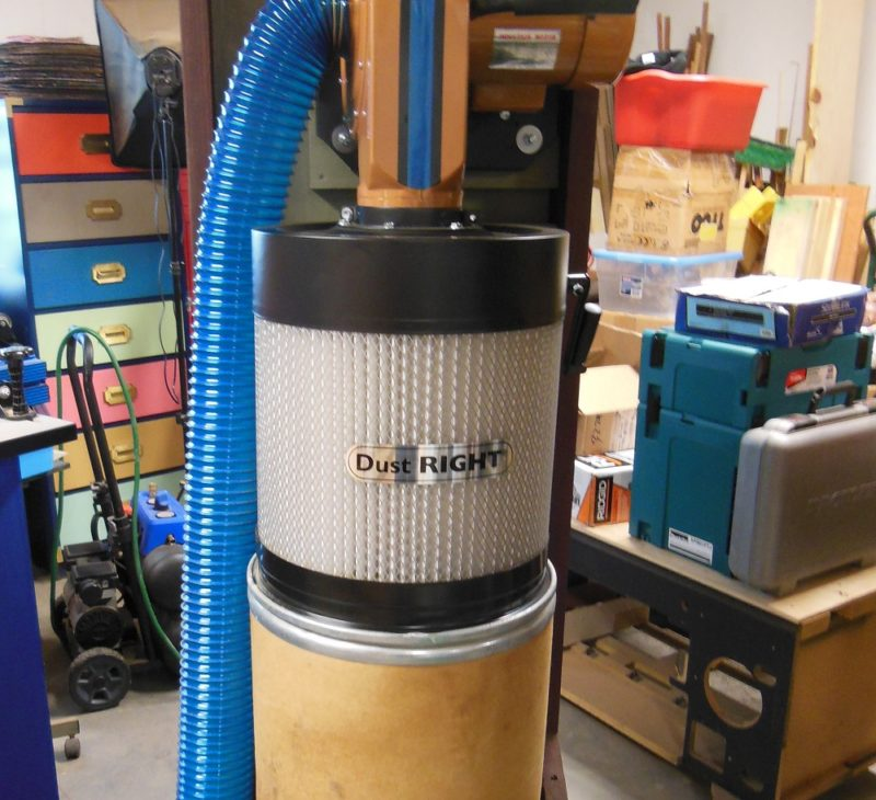 The Dust Right Dust Collector By Rockler It Sucks So Good
