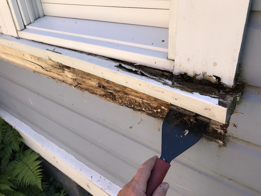 How To Fix A Rotted Windowsill And What Lies Beneath Home Fixated