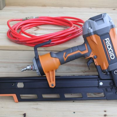 "Hitting The Nail On The Head – Ridgid R350RHF 3-1/2"" Framing Nailer"