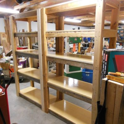 Make Your Own Heavy Duty Shelving Unit – A Vertical Clutter Buster