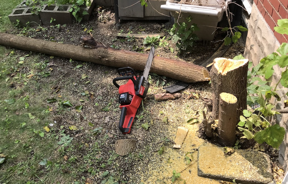 milwaukee fuel chainsaw