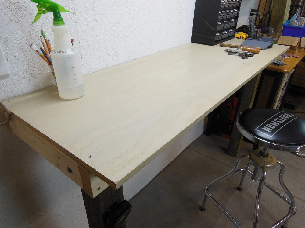 Phenomenal Make This Simple Built In Workbench In A Couple Hours Home Uwap Interior Chair Design Uwaporg