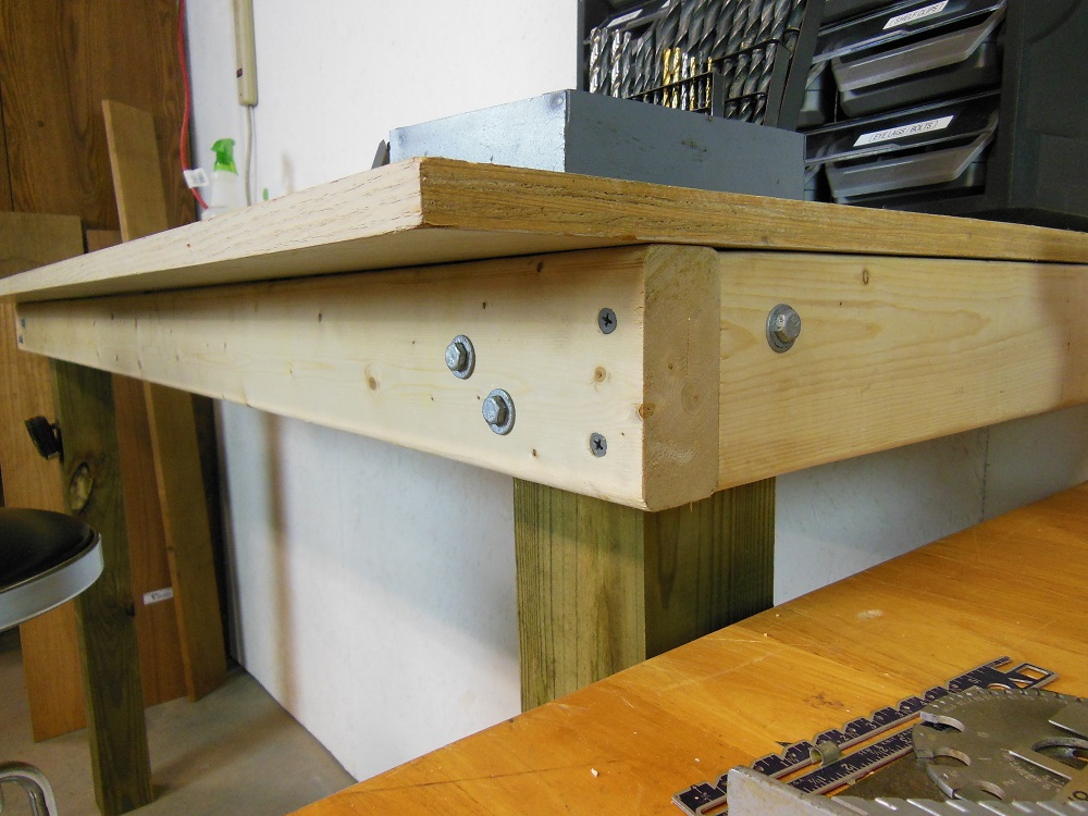 Fine Make This Simple Built In Workbench In A Couple Hours Home Pdpeps Interior Chair Design Pdpepsorg