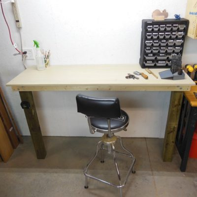 Make This Simple Built-In Workbench In A Couple Hours