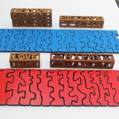 2 Easy Scroll Saw Projects – 3D Word Blocks & Wrap-Around Puzzles