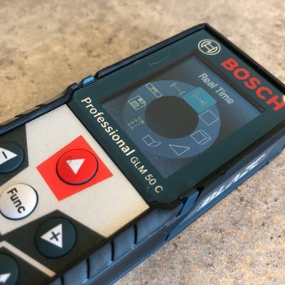 The Bosch Laser Measure GLM 50 C Shows its True Colors
