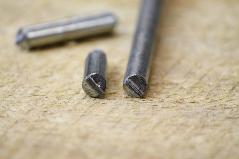 """5/16"""" x 10"""" steel spike"""