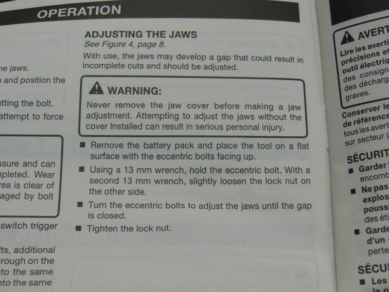 Read your manuals