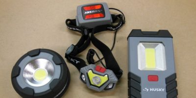 200 And 300 Lumen Husky LED Lights – Giving The Dark A Stern Talking To