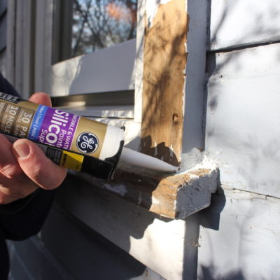 Mind The Gap – Easy Caulking Projects To Save Energy And Money With GE Supreme Paintable Silicone Caulk