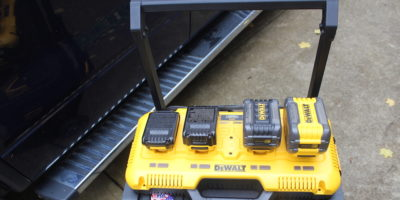 DeWalt DCB104 Simultaneous Charger Review – Four Ports, All Sorts, Even The New Giant FlexVolt!