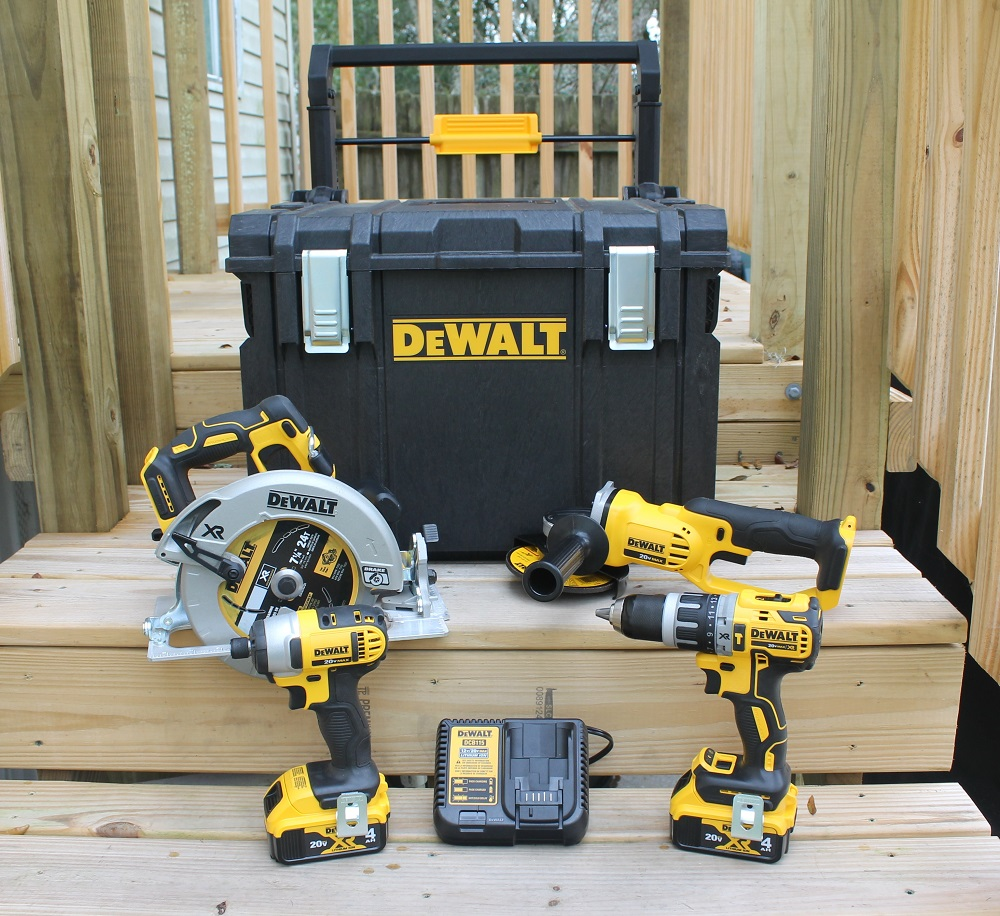 DeWALT 20V MAX 4-Tool Combo Kit With Tough System - Home Fixated