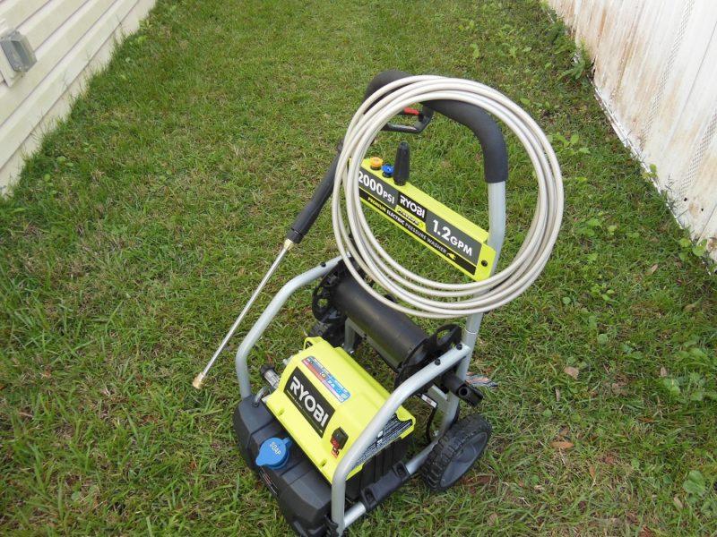 Ryobi Electric Pressure Washer 2 000 Psi 1 2 Gpm Scrub A