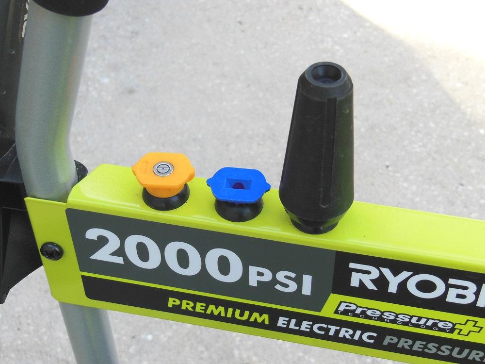 ryobi 2000 psi electric pressure washer manual
