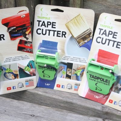 Tadpole Tape Cutter – The Mini Dispenser That Goes On Your Tape