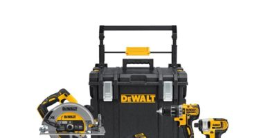 DeWALT 20V MAX 4-Tool Combo Kit With Tough System