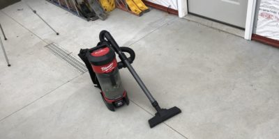 Milwaukee Backpack Vac Review – Clean Up Your Act And Move On