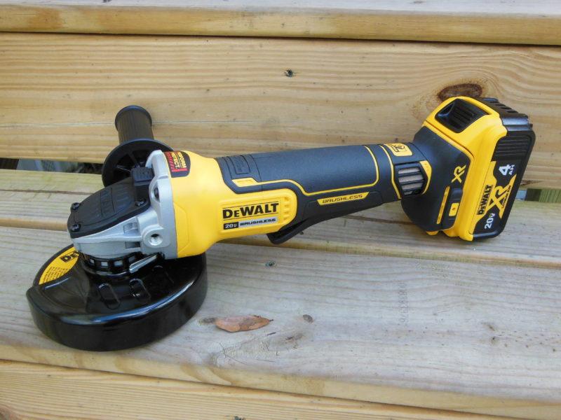 DeWALT DCG413 angle grinder
