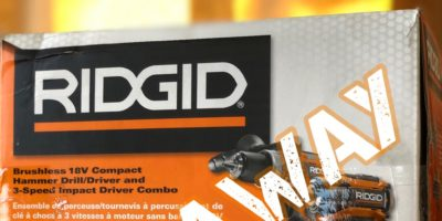 Three Giveaways Live Now – Enter for Chances to Win Tools & Gear From Ryobi, Ridgid and Diablo
