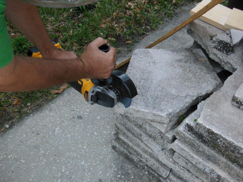 Cutting masonry
