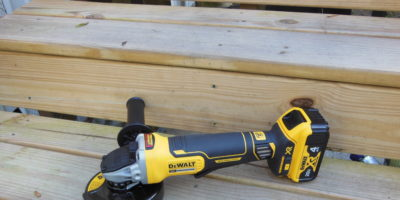 DeWALT DCG413 20V MAX Brushless Angle Grinder With Kickback Brake