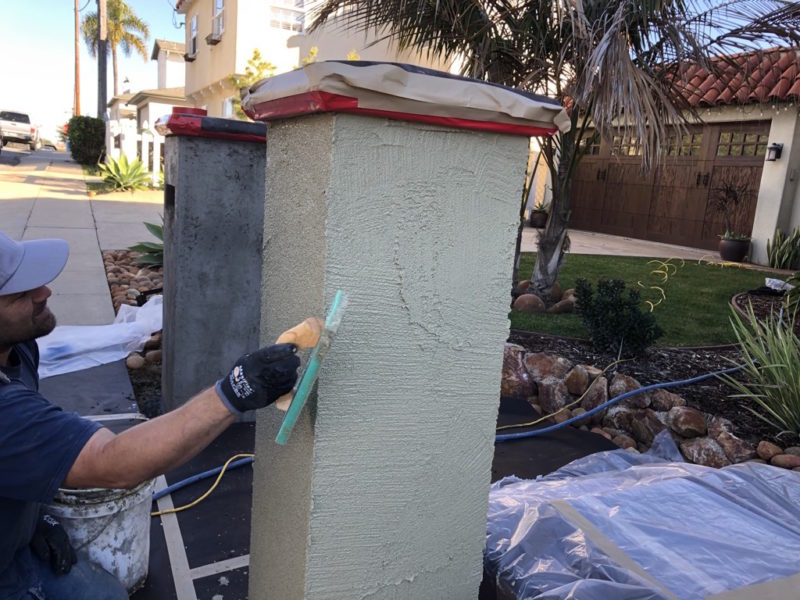 color coat stucco