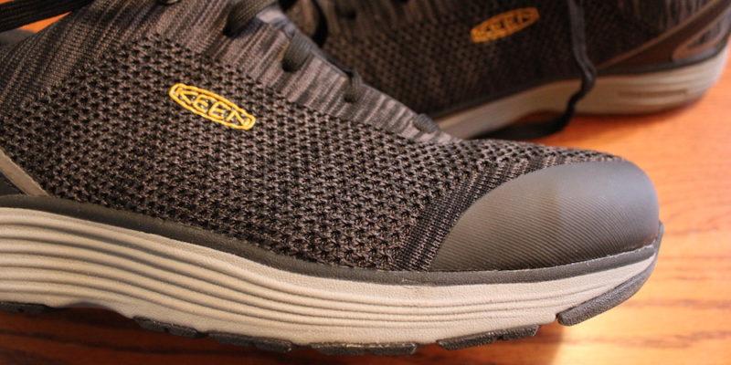 KEEN Utility Womens Sparta Low Alloy Toe Non Slip Work Shoe Construction