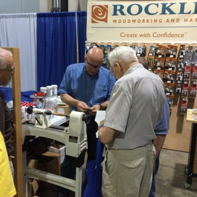 """AAW Partners with Rockler Stores to Host """"Turning and Learning"""" Sessions on February 9th"""
