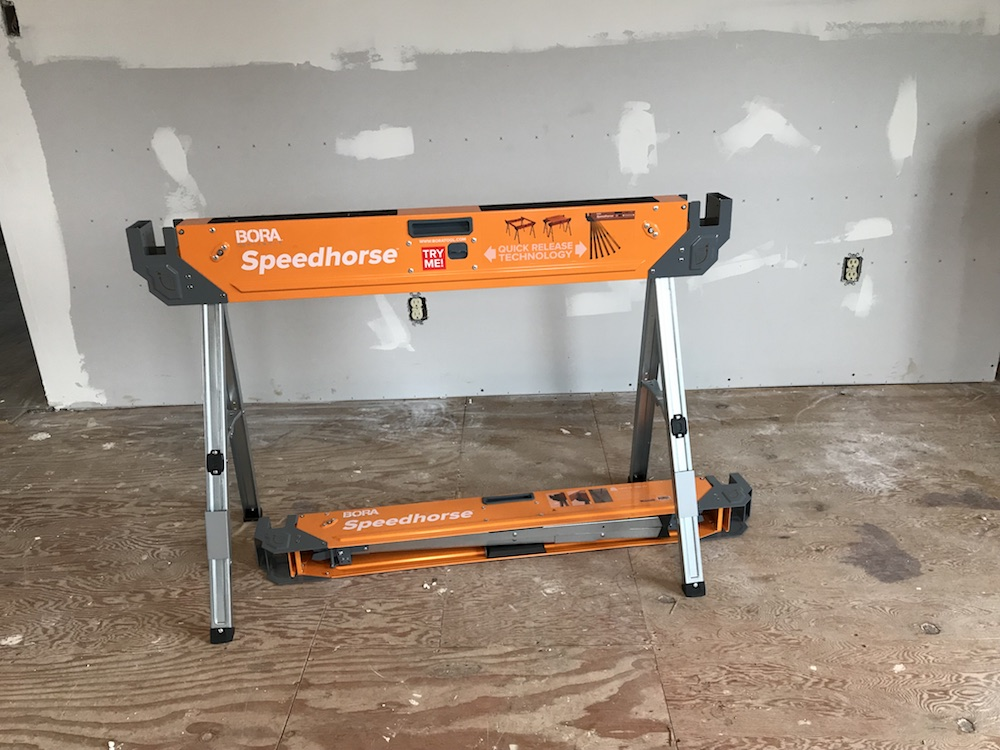 Bora PM-4500 Speedhorse Sawhorse Review - A Rapidly Unfolding Story