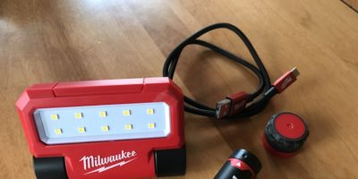 Milwaukee USB Flood Light Review – This Little (Rechargeable) Light Of Mine