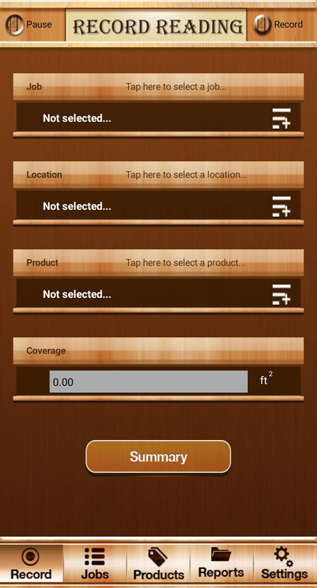 Woodshop MC app