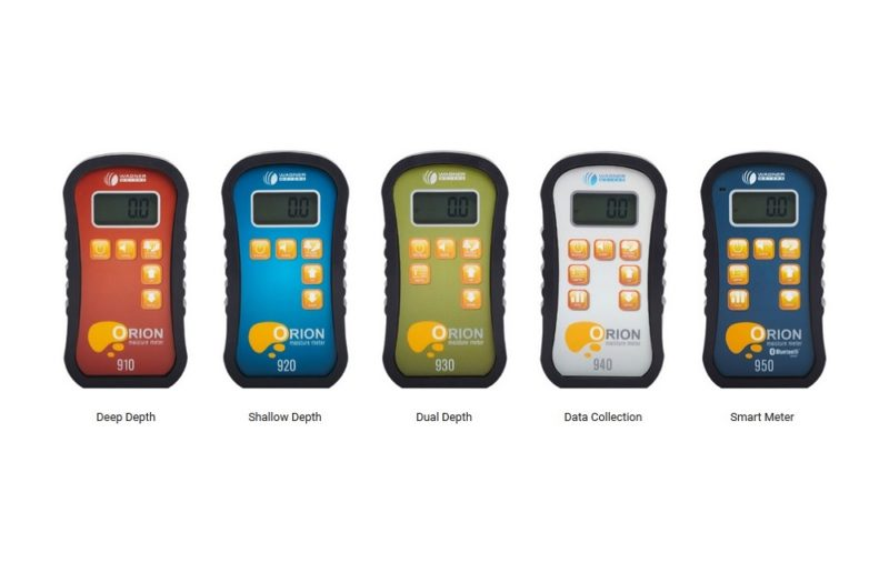 Orion moisture meter lineup