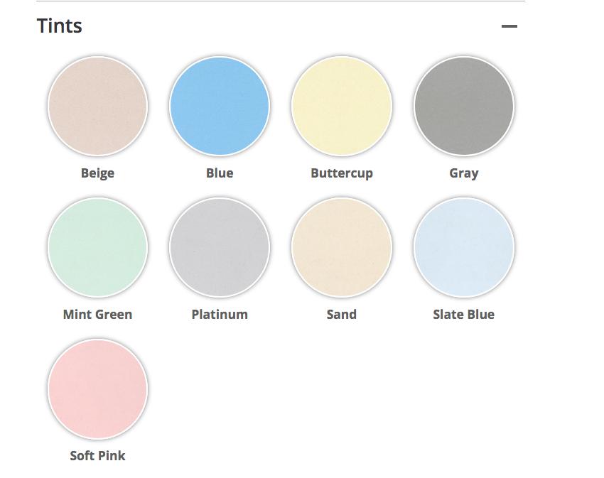 drylok color options