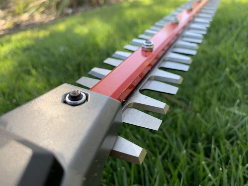 milwaukee quik-lok hedge trimmer