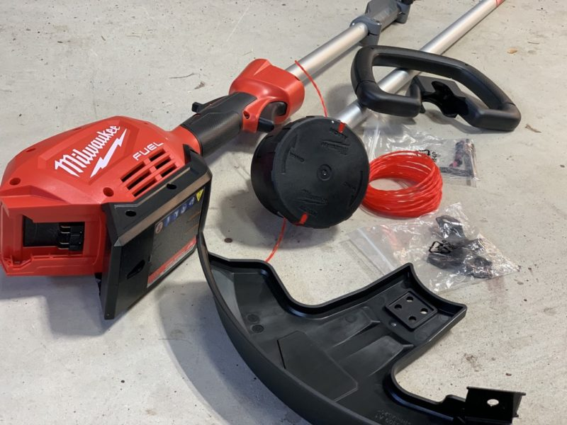 Milwaukee M18 Fuel String Trimmer, Edger, Pole Saw & Hedge