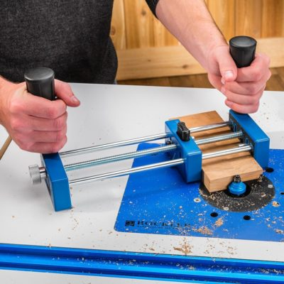 Rockler Small Piece Holder – Keeping Fingers Safe At The Router Table