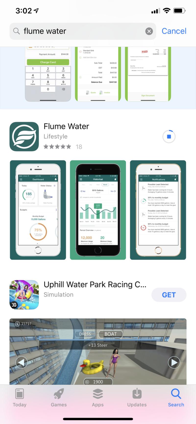 flume app