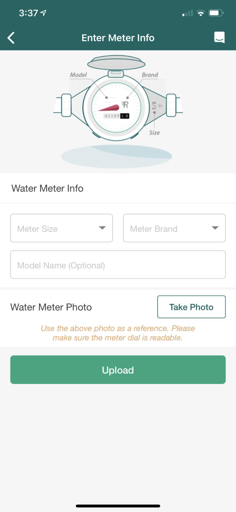 water meter model