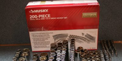 We're Going to Need a Bigger Toolbox – The 200 Piece Husky Socket Set