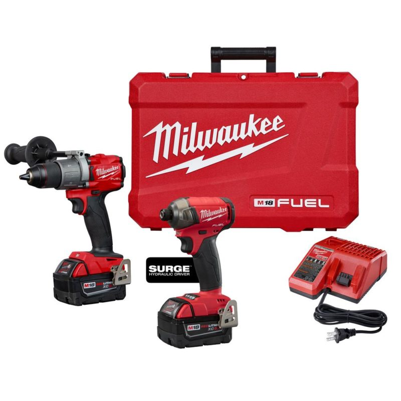Milwaukee drill set