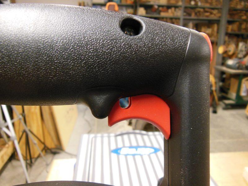 Foreman trigger lockout.