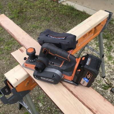 Ridgid Octane Planer Review – A High Speed Chip Maker