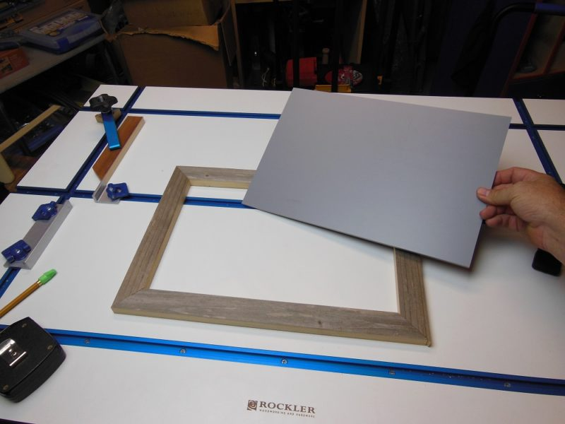 High density PVC foam board.