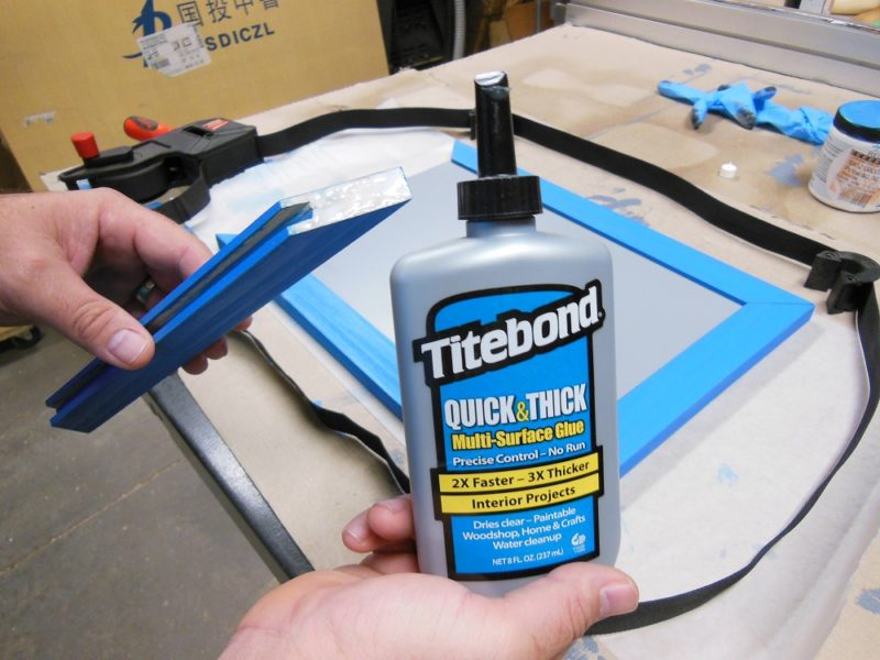 Quick & Thick wood glue.