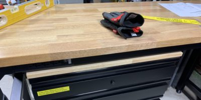 Flex Your Workspace with a Husky Workbench & Drawer Cabinets