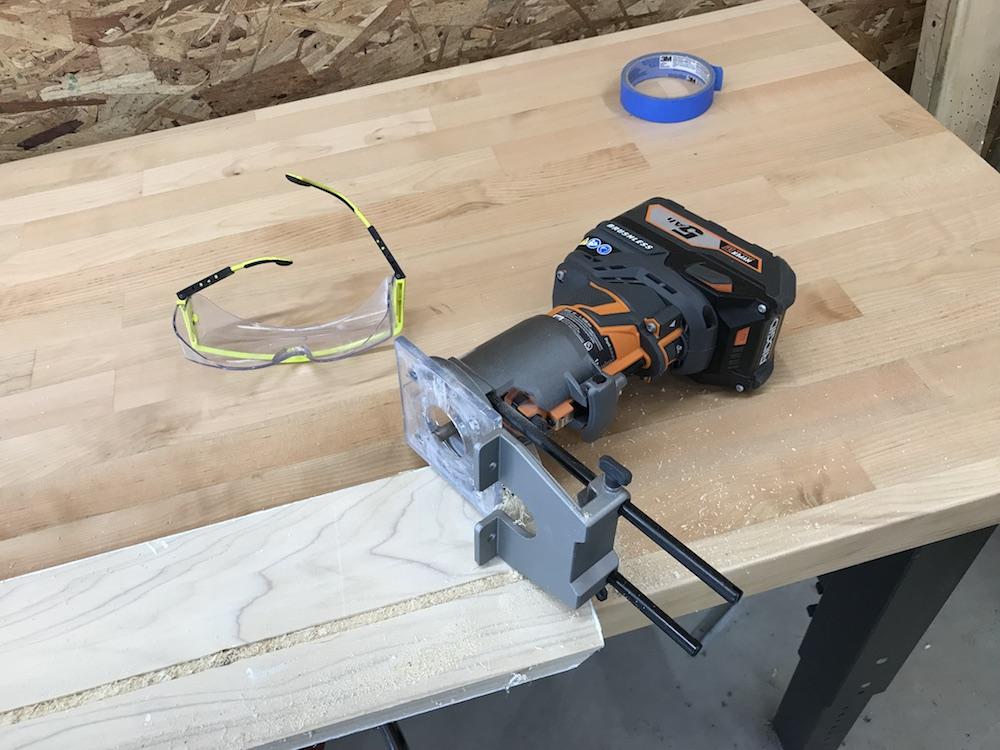 ridgid octane cordless router