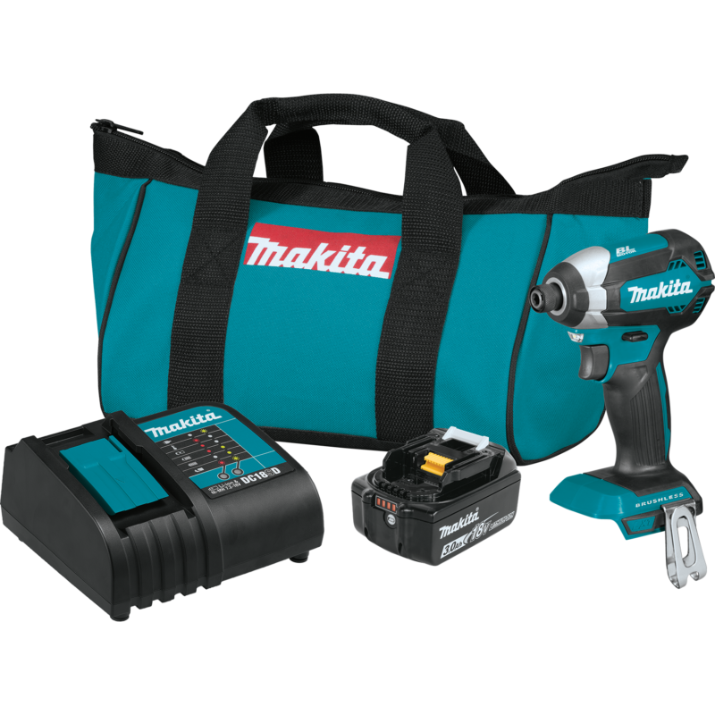 Makita sub compact brushless impact driver kit