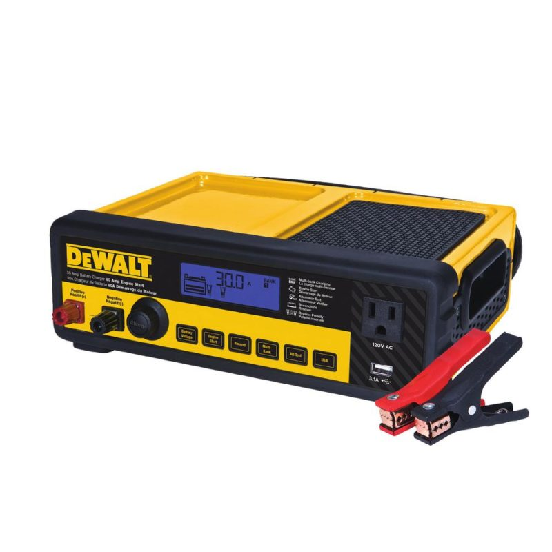 dewalt car battery charger